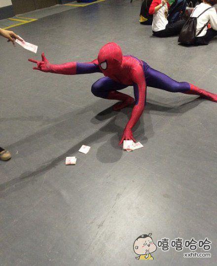 为小蜘蛛心酸