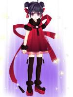 红丝绒绒套装