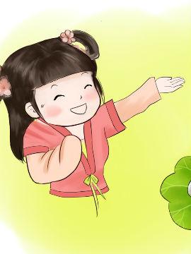 唐朝美女头像卡通
