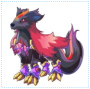 紫晶黑风犬