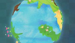 神秘的冰蓝星球——地球故事