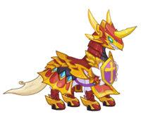 龙斗士疾风灵狐坐骑