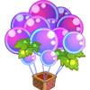 葡萄热气球袋
