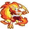 龙斗士烈焰狮王 赤焰狮 小火狮图鉴