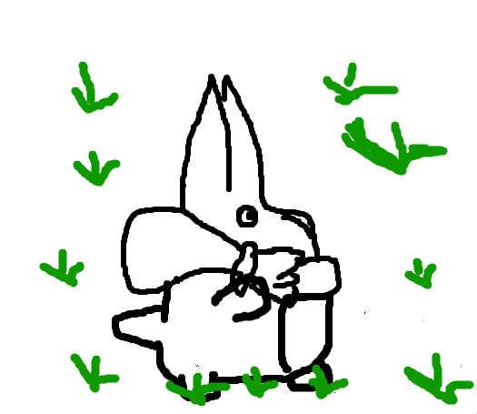 龙猫笔画手绘教程