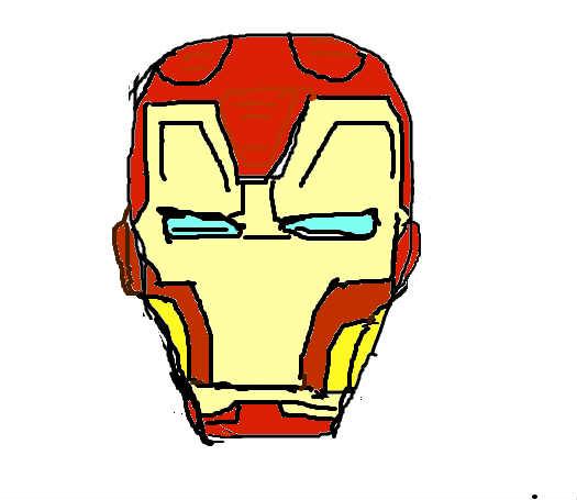 画钢铁侠是我的爱好