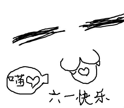 小猫简笔画步骤涂鸦