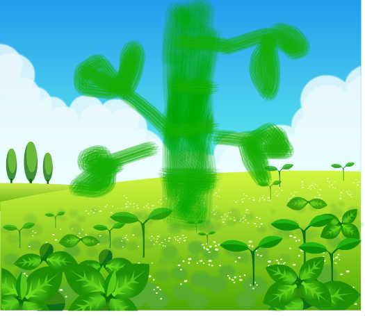 背景 壁纸 绿色 绿叶 设计 矢量 矢量图 树叶 素材 植物 桌面 525_455