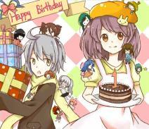 涂鸦板一周年生日快乐!↖(^ω^)↗
