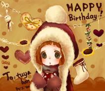 涂鸦板生日快乐!