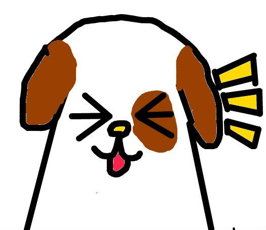 萌小狗卡通图片