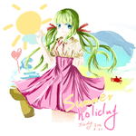 Summer holidy【教.过程】
