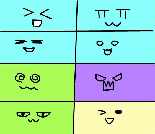 简笔画表情头像 学乐网