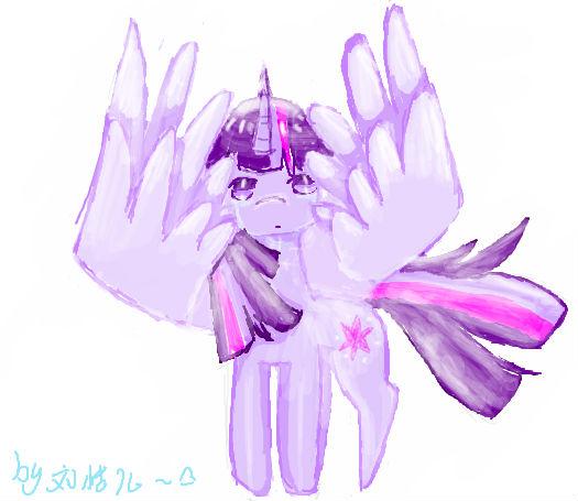 ... 紫悦公主小马宝莉紫月公主 水晶小马紫悦公主 图片
