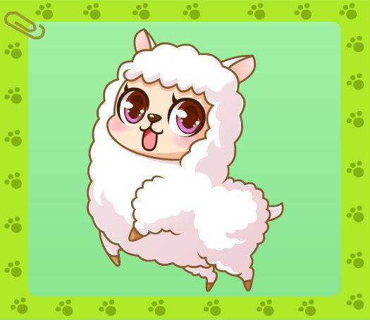 绵羊是个可爱的宠物