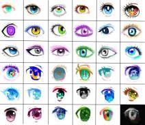 【6x6】眼睛の画法