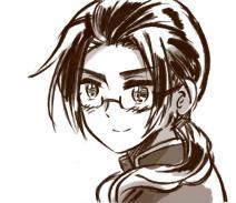 戴眼镜的王耀耀儿——