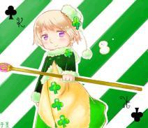 APH扑克牌设定——梅花K的露西亚~