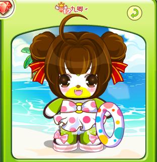 奥比岛 攻略心得 奥比岛堇年教你搭配萌装扮  发型3:新春可爱丸子头&