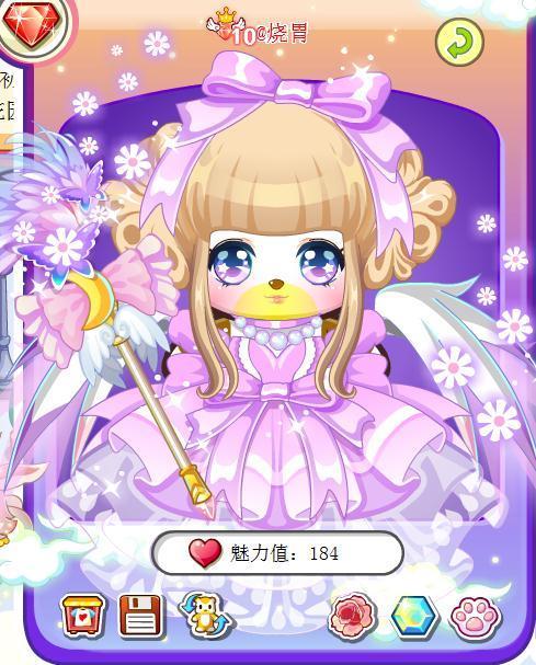 可爱美丽花花公主