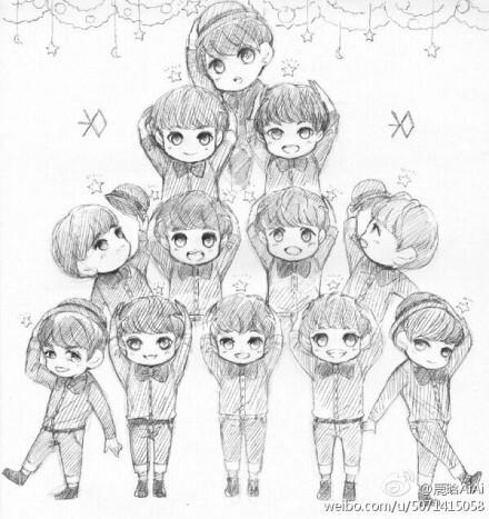 张艺兴二比_exo圈_百田网