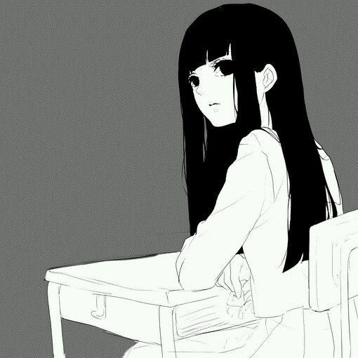 【抹茶】各种有耐的黑白头像_百田素材圈