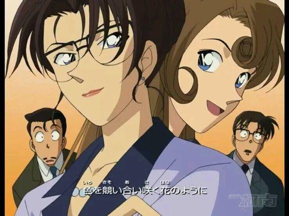【思念】名侦探柯南美女排行版