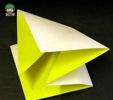 折成一个双正方形