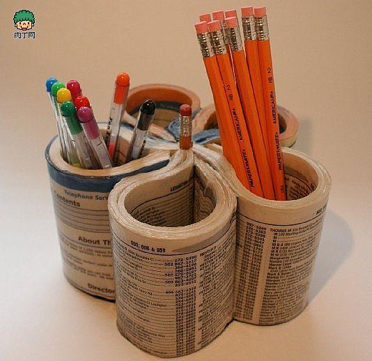 卷筒纸芯创意手工动物