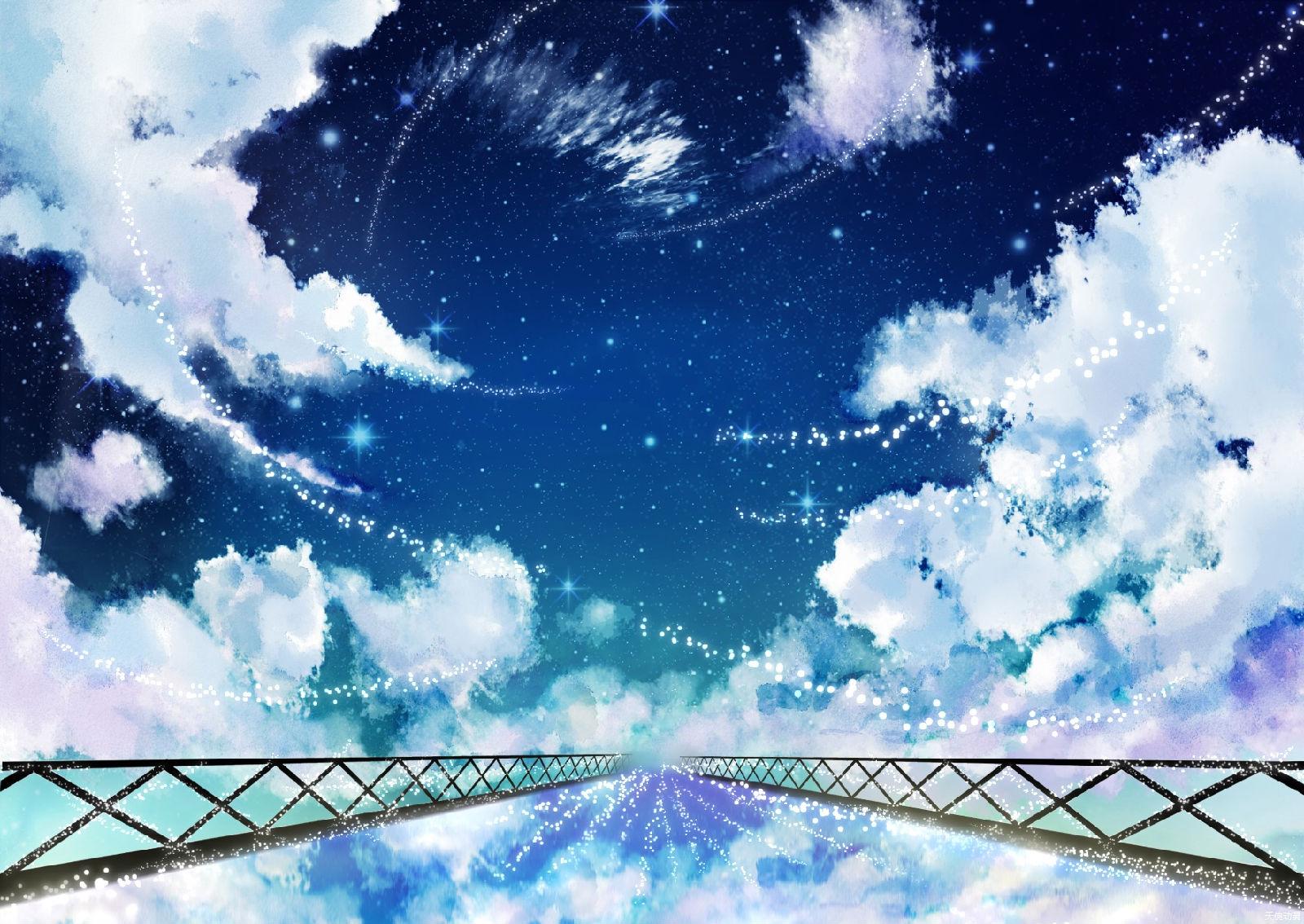 二次元意境 唯美风图片