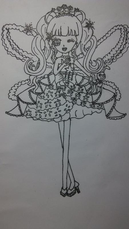 安琪啦 手绘 素描