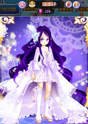 了不少深紫色的头发,表示这种颜色真心很难搭配啊