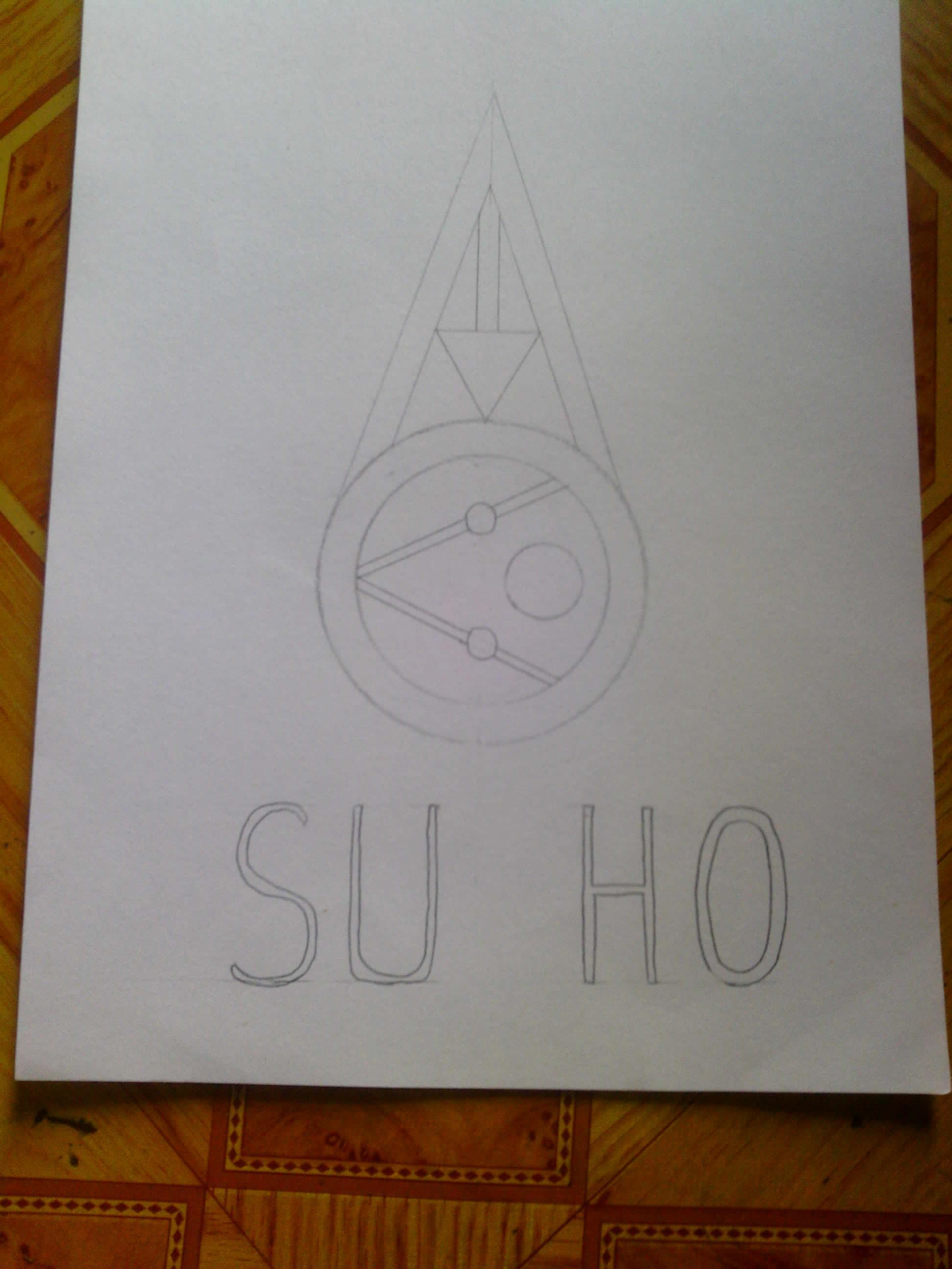 exo成员logo手绘图
