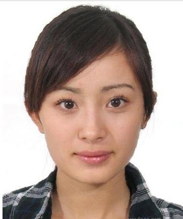 【清柠】明星素颜证件照