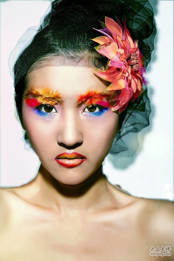 森林创意彩妆造型