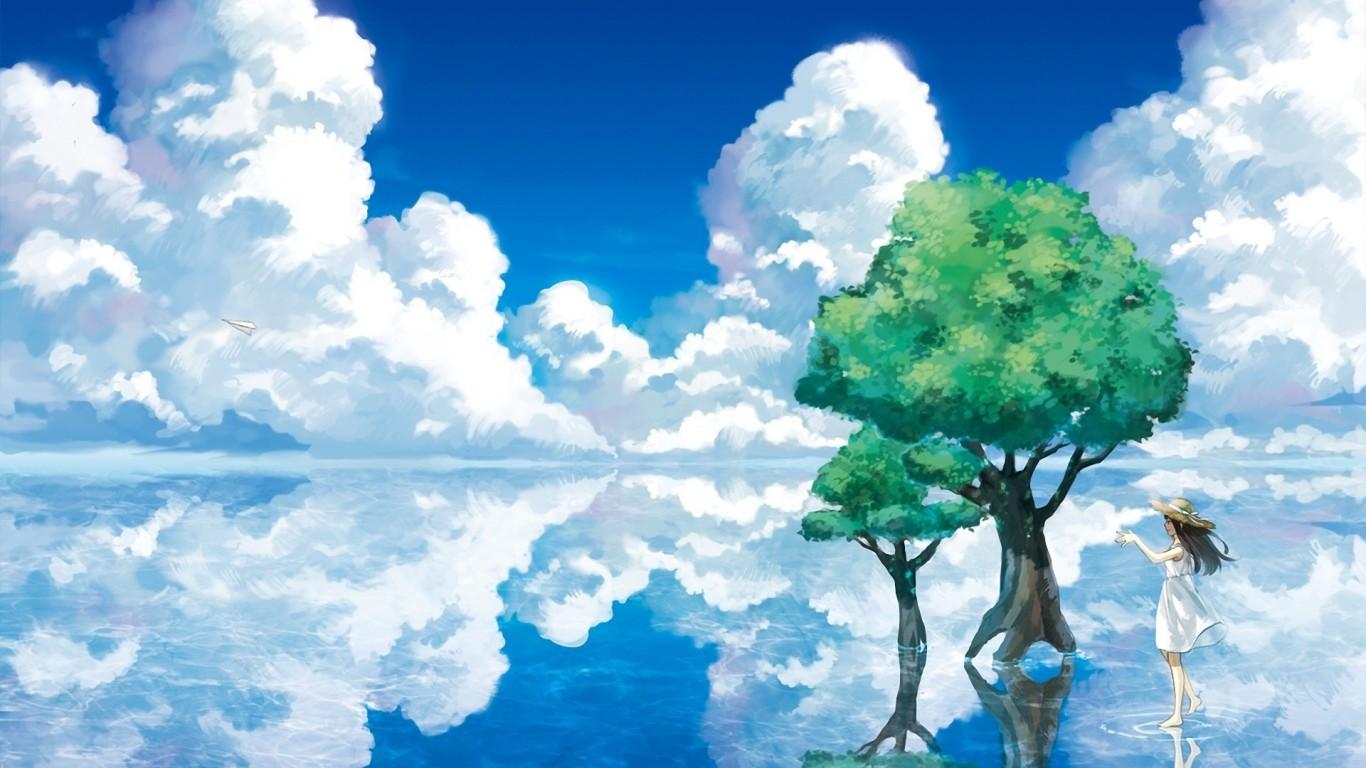背景 壁纸 风景 设计 矢量 矢量图 素材 天空 桌面 1366_768