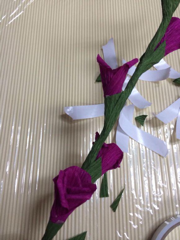 【清兰】各种皱纹纸海绵纸手工