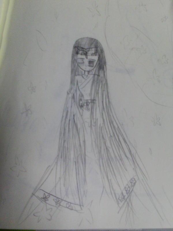 樱花简笔画-简单铅笔画图片