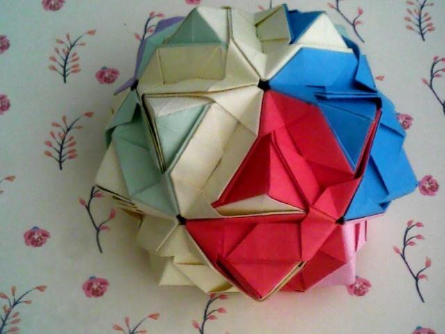 简单绣球就是折纸大全步骤图解