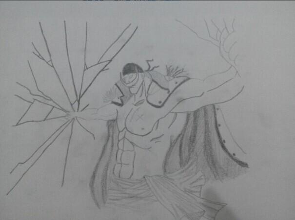 【咚咚枪】海贼王铅画