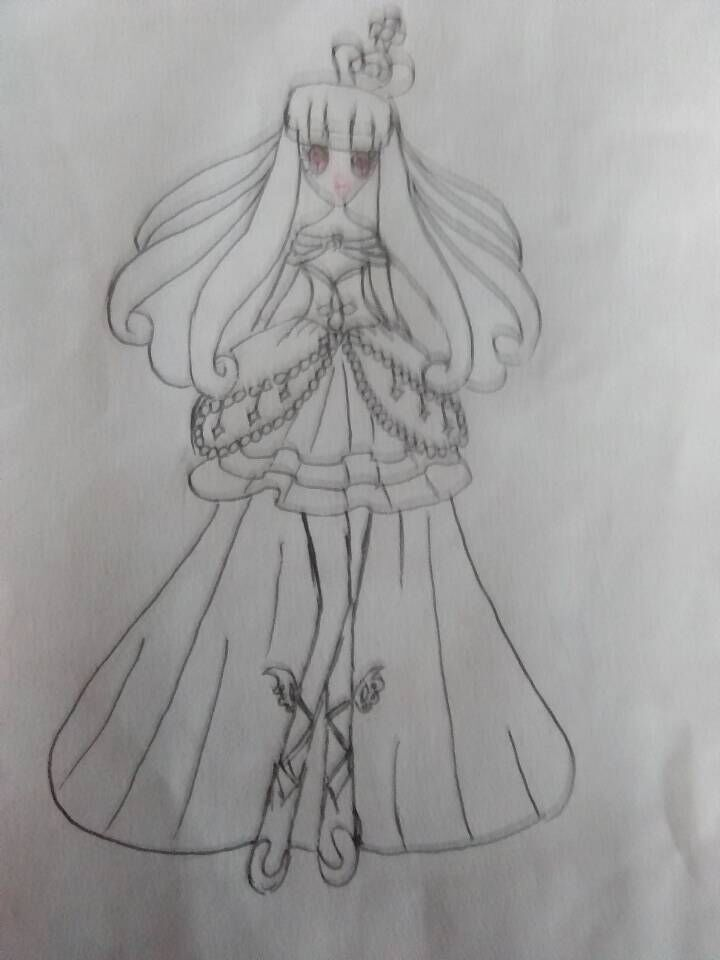 画公主的步骤图片