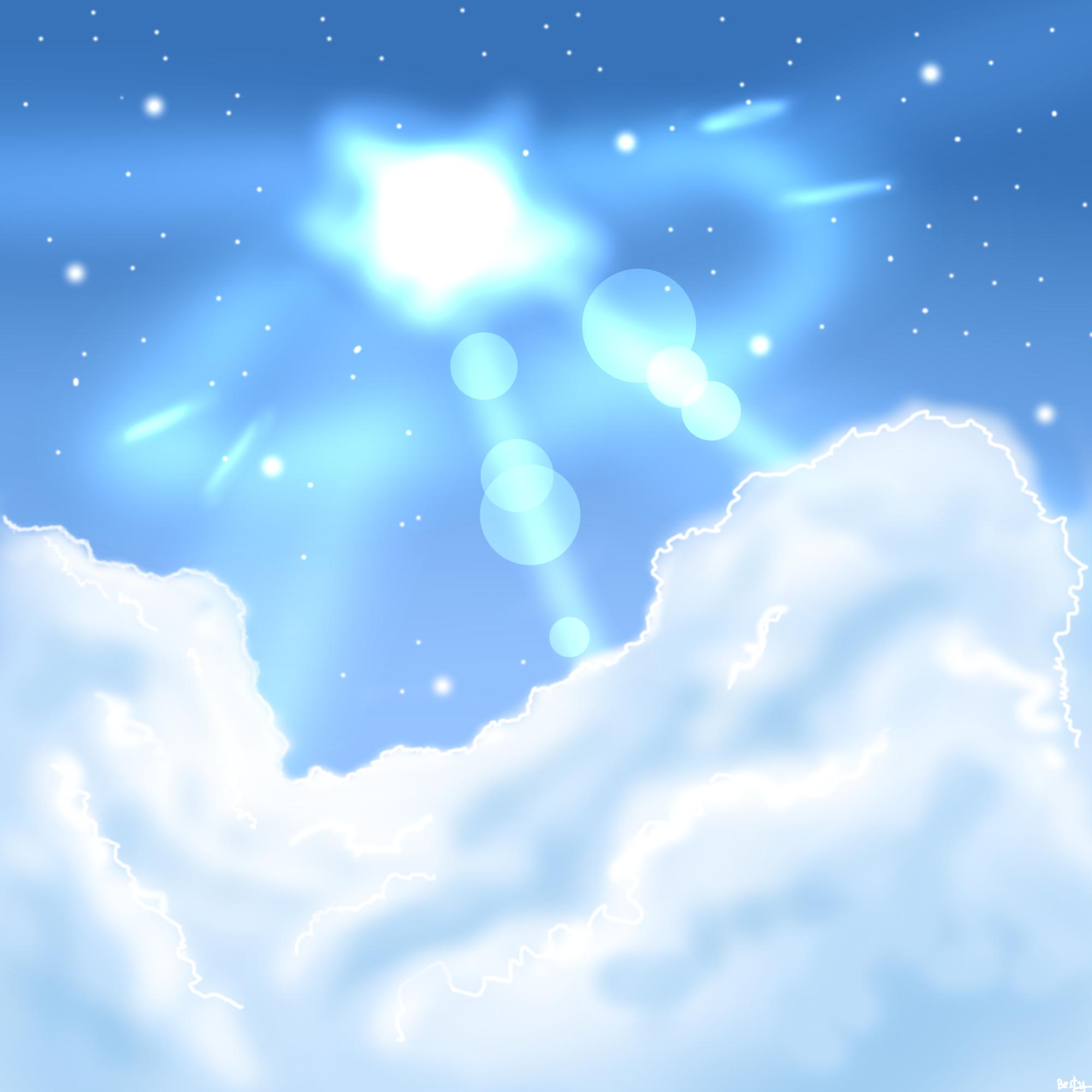 天空简单画法步骤