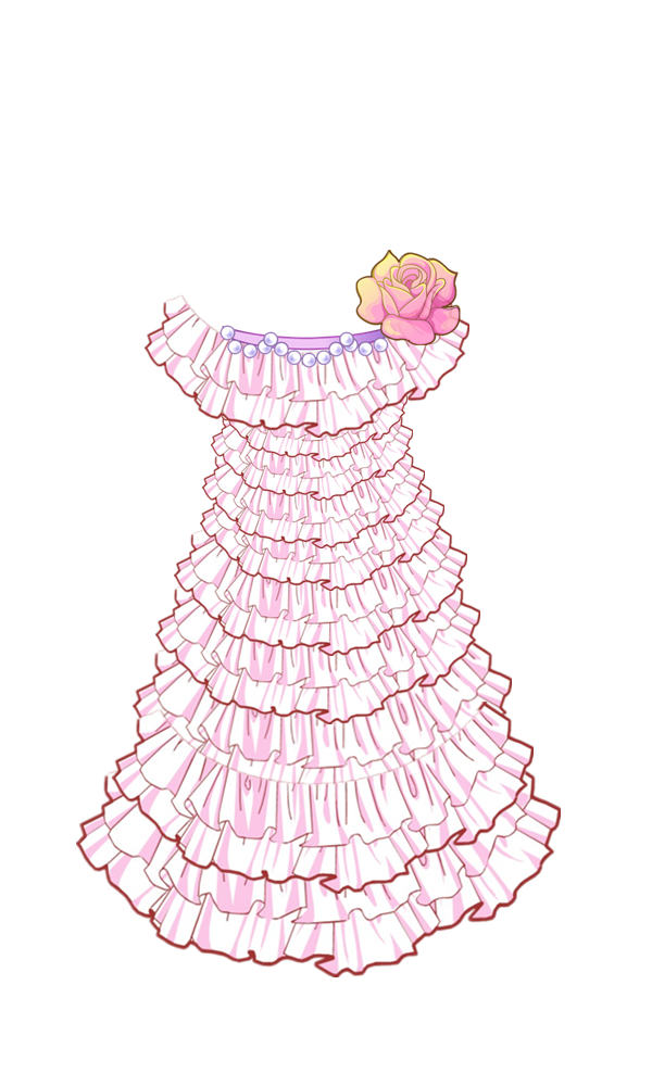 如果有裙子花边的【免