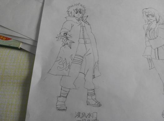 【青风】火影忍者的画图片