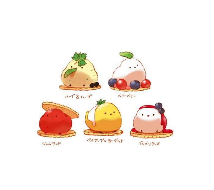 【冰糖】各种可爱的食物拟人