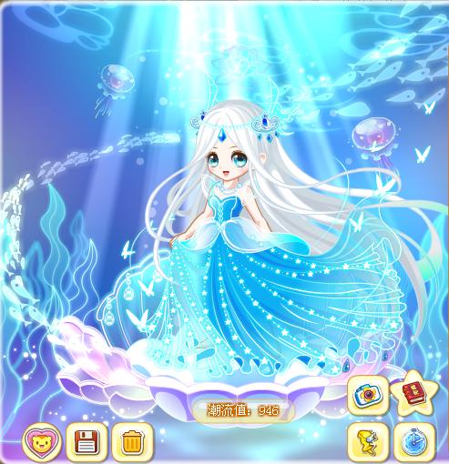 奥比岛月之女神优雅装搭配云枫教你