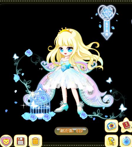 奥比岛女神祭蝶之灵搭配白嫣教你