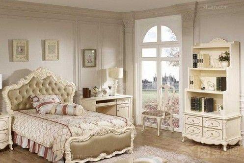 欧式女生卧室效果图