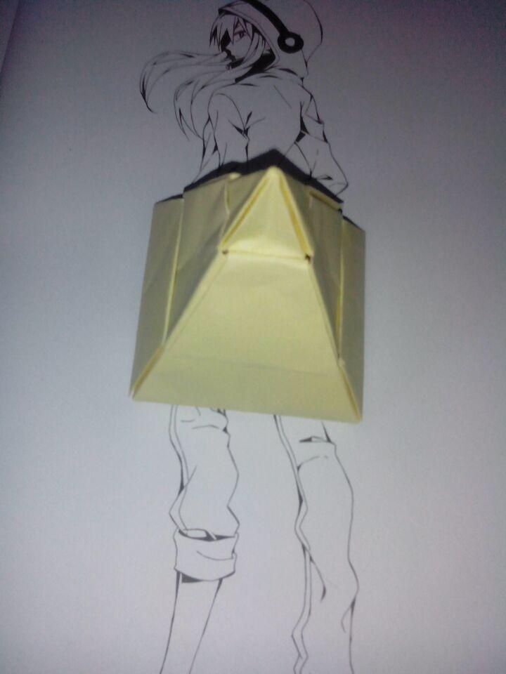 【沐尘】教你做储物盒金字塔,进来看看!_手工圈_百田网