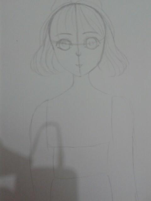 exo素描画步骤图